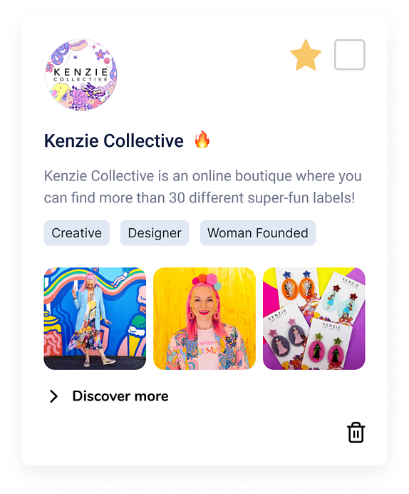 Card - Closed - kenzie collective
